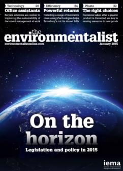 Environmentalist January 2015