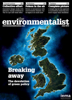 Environmentalist July 2013