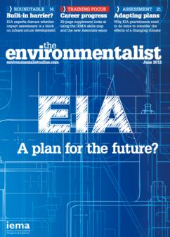 Environmentalist June 2012