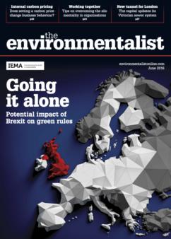 Environmentalist June 2016