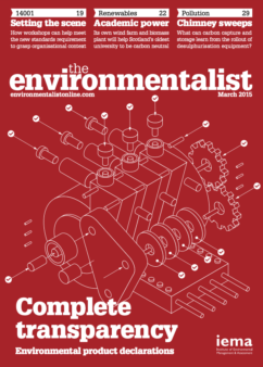 Environmentalist March 2015
