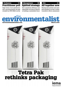Environmentalist March 2016