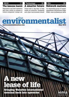 Environmentalist May 2016
