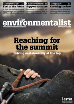 Environmentalist November 2013