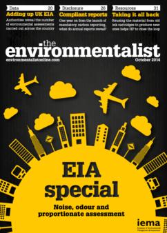 Environmentalist October 2014