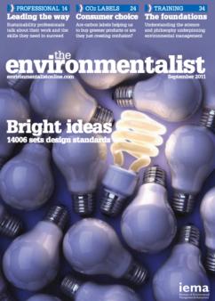 Environmentalist September 2011