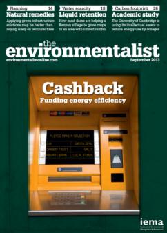 Environmentalist September 2013
