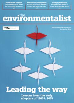Environmentalist September 2016