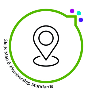 icon for Skills map and membership standards