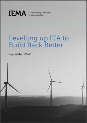 Levelling up EIA to BBB Front Cover Sept 2020