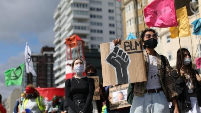 Black Lives Matter protests sparked planning for the diversity initiative (Photo: ISABEL INFANTES / AFP/Getty)