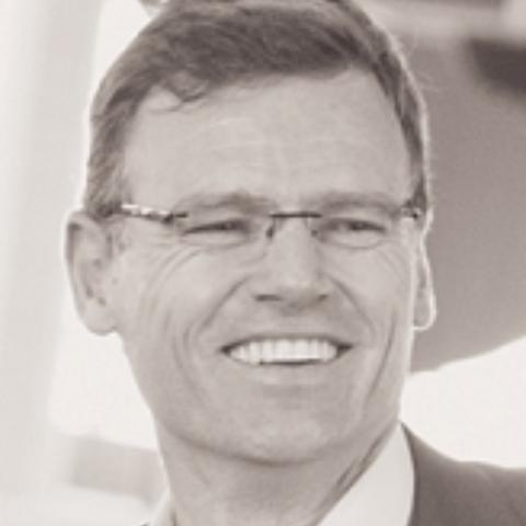 Portrait photograph of Greg Chant-Hall