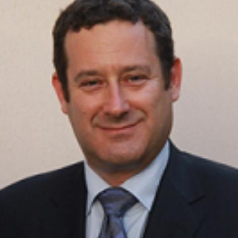 Portrait photograph of Dr Michael Nates