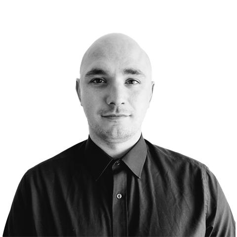 Portrait photograph of Liam Bower