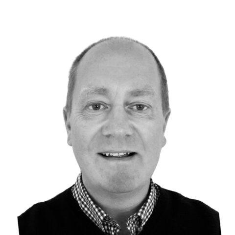 Portrait photograph of Martin Baxter