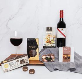 Red Wine & Chocolates Gift Hamper