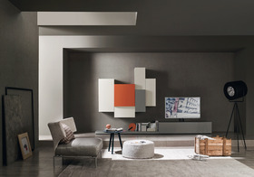 Press Loft Image Of Tv Wohnwand Italien Modern Bunt For Press Pr
