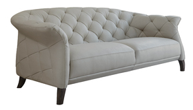 Press Loft Image Of Luxe Modern 2 To 3 Seater Leather Chesterfield