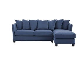 Press Loft | Image of Esme Corner Sofa Cobalt Blue for