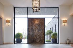 hot sale online cd508 f1057 Press Loft | Image of Raw Bronze Oversized Front door by ...