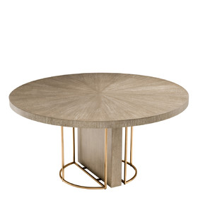 Cliff Round Dining Table   InDesign Ltd