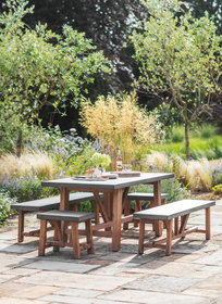 Admirable Press Loft Image Of Garden Trading Chilson Table And Bench Creativecarmelina Interior Chair Design Creativecarmelinacom
