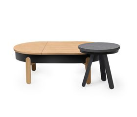 Batea S Coffee Table OakBlack by