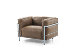 CHAPLINS LC3 Exemplaire Personnel Armchair by Cassina