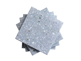 Press Loft | Image of Scaramanga - Blue Terrazzo Coasters