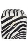 Aisha Stool   Zebra