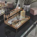 Beautify Mirrored Display Tray