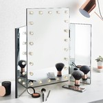 Beautify Trifold LED Mirror