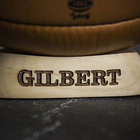 Gilbert Leather Vintage Rugby Ball