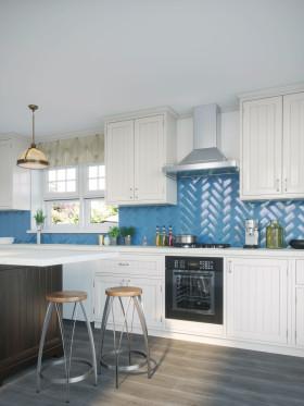 Press Loft Image Of Savanna Gloss Petrol Blue Kitchen Wall Tiles For Press Pr