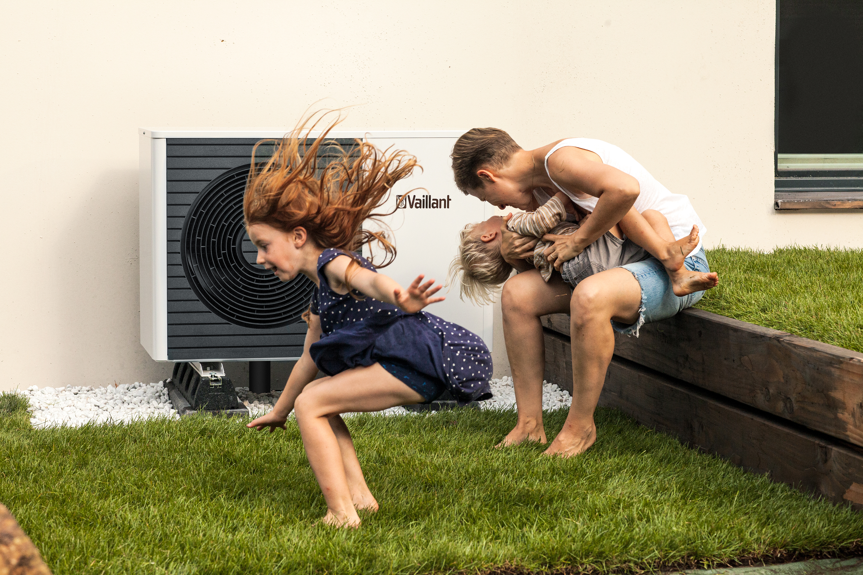 Image: The Quiet Mark Certified Vaillant aroTHERM Plus Air Source Heat Pump
