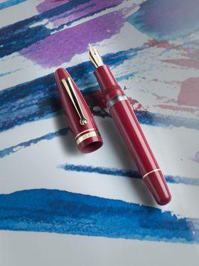 Red luxury fountain pen