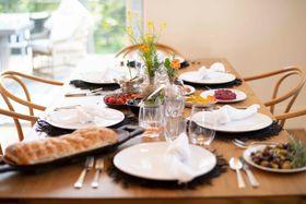 Interior table shot - Kate Wheeler home