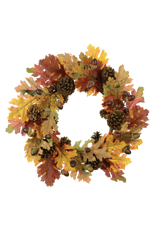 Autumn Oak Wreath