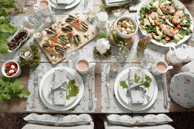 Sophie Allport Woodland Table Setting Lifestyle