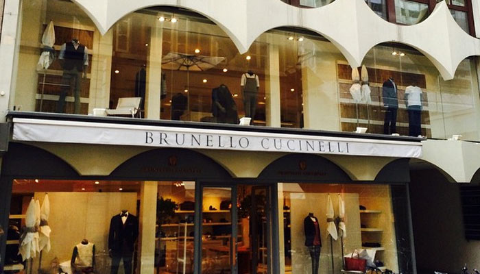 4668f85dbca26 Brunello Cucinelli opened third store in Geneva