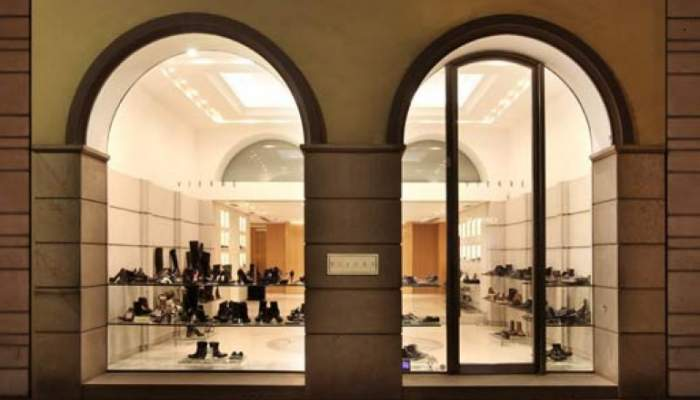 711f0fc4 Balmain opened its first Italian flagship store in Milan ...