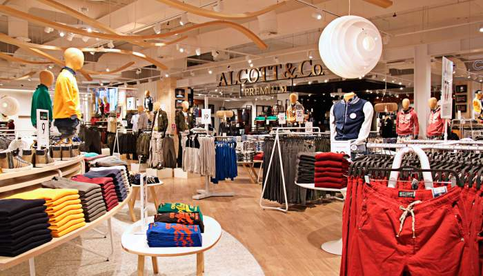 Torino Outlet Village took in Alcott | eLocations.com