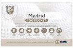 Shire Madrid 1000 Pocket Mattress thumbnail