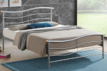 Time Living Silver Waverley Bed Frame thumbnail