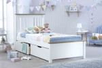Bedmaster White Chester Bed thumbnail