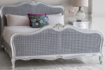 Frank Hudson Living Chic Silver with Cane Detailing Bed Frame thumbnail