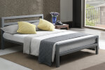 Time Living City Block Grey Bed Frame thumbnail