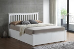 Bedmaster Malmo White Wooden Ottoman Bed thumbnail