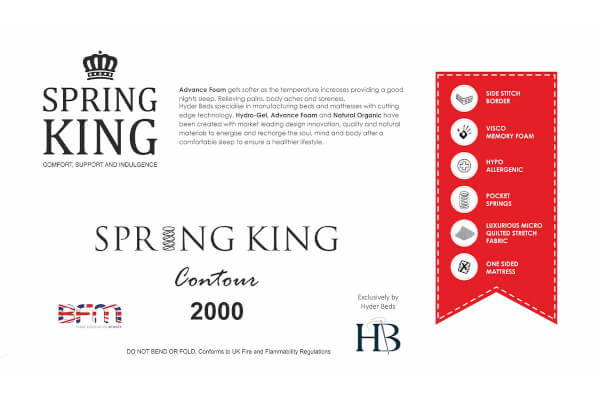 Contour 2000 Memory Pocket Mattress