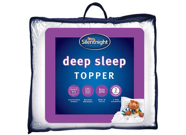 Silentnight Deep Sleep Mattress Topper - King Size (5' x 6'6